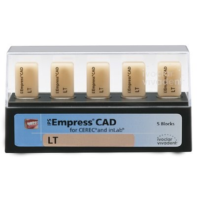 Блоки IPS Empress CAD CEREC/inLab LT B2 I12 5 шт. в ООО «ЭУР-МЕД Дон»